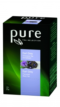 PURE TEA Earl Grey, Sachets - 6x25 Stk.