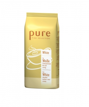 PURE Fine Selection Typ White Drinking Chocolate - 6x1000g