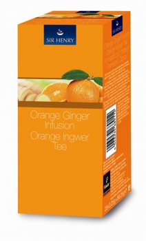 Sir Henry Orange Ingwer, Sachets - 6x25 Stk.