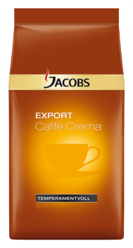 Jacobs Export Caffee Crema Tempermantvoll ganze Bohne 8x1000g
