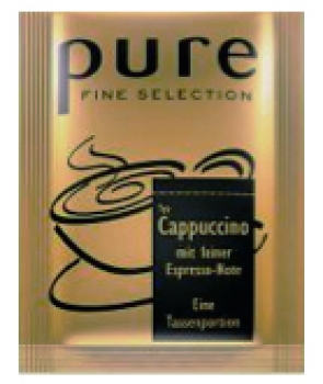 PURE Fine Selection Typ Cappuccino, Sachets - 2x25 Stk á 13,5g